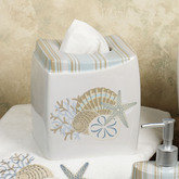 By the Sea Tissue Cover White