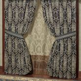 Virtuoso Wide Tailored Curtain Pair Midnight