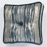 Spellbound Tufted Pillow Indigo 16 Square