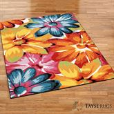 Bright Blooms Rectangle Rug Multi Bright