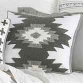 Free Spirit Hooked Southwest Pillow Gray 18 Square