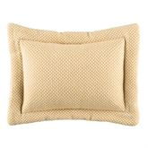 Eliza Flanged Pillow Butter Rectangle