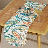 Tidal Pool Table Runner Multi Bright 13 x 54