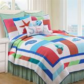 Antigua Bay Mini Quilt Set Multi Bright