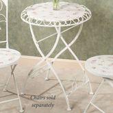 Abigails Garden Bistro Table Soft White