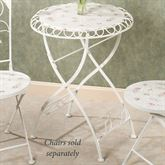 Abigails Garden Bistro Table Soft White