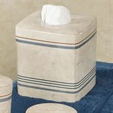 Ticking Stripe Tissue Cover Beige