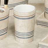 Ticking Stripe Tumbler Beige