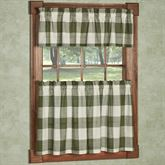 Checkerboard Tier and Valance Set