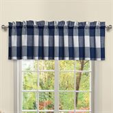 Checkerboard Tailored Valance 52 x 12