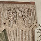 Camelot Empire Valance Almond 110 x 28