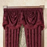 Camelot Empire Valance Burgundy 110 x 28