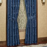 Camelot Tailored Curtain Pair Navy