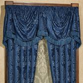 Camelot Empire Valance Navy 110 x 28