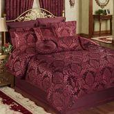 Camelot Comforter Set Burgundy