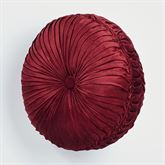 Courtland Tufted Pillow Cordovan Round