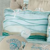 Seaview II Quilted Sham Light Blue