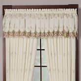 Bella Rose Gathered Valance  70 x 18