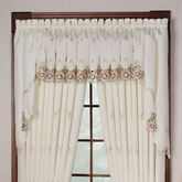 Bella Rose Swag Valance Pair  60 x 38