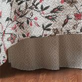 Blair Garden Gathered Bedskirt Ecru