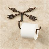 Arrow Wall Mount Toilet Paper Holder Aged Copper