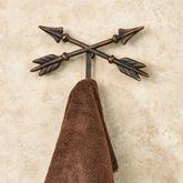 Arrow Wall Hook Aged Copper