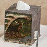 Back Bay Moose Tissue Cover Multi Warm