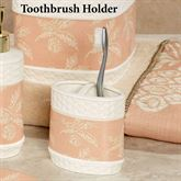 Pineapple Paradise Toothbrush Holder Ivory
