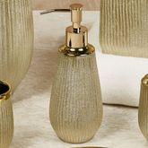 Hammered Lotion Soap Dispenser Gold