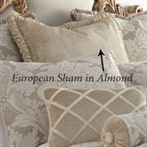 Brighton Piped European Sham Almond