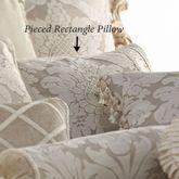 Brighton Pieced Pillow Light Taupe Rectangle