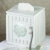 Seaside Tissue Cover White