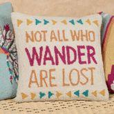 Wander Decorative Pillow Multi Cool 16 Square