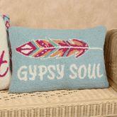 Gypsy Soul Rectangle Decorative Pillow Multi Cool 12 x 18