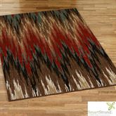 Big Horn Mesquite Rectangle Rug Multi Earth