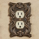 Fleur de Lis Single Outlet Bronze/Gold
