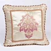 Chandon Embroidered Square Pillow Champagne 18 Square
