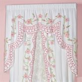 Cottage Charm Swag Valance White 60 x 40