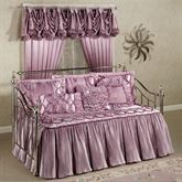 Marquis Flounce Daybed Set Orchid Daybed