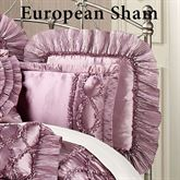 Marquis Ruffled European Sham Orchid
