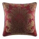 Shiraz Piped Square Pillow Claret 20 Square