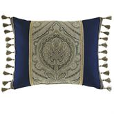 Hannah Tailored Rectangle Pillow Dark Blue