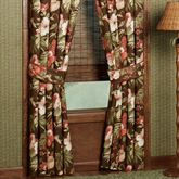 Cabana Tailored Curtain Pair Cocoa 84 x 84