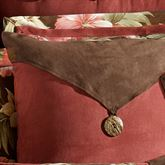 Cabana Envelope Square Pillow Cocoa 18 Square
