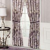 Floral Nouveau Tailored Curtain Pair