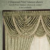 Aberdeen Diamond Waterfall Valance