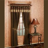 Sierra Curtain Pair with Valance  120 x 84