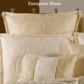 Sonoma Tailored European Sham Light Cream