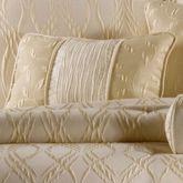 Sonoma Piped Rectangle Pillow Light Cream