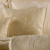 Sonoma Piped Square Pillow Light Cream 18 Square
